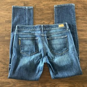 Paige straight jeans size 29